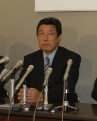 比例代表北信越ブロックからの出馬が決まった旧山古志村村長の長島忠美氏(54)