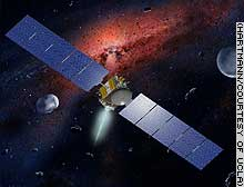 ドーン計画の小惑星探査機イメージ図